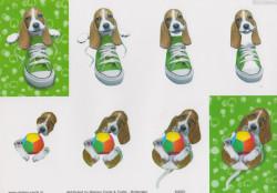 Nielsen Cards knipvel honden KA001 (Locatie: 2651)