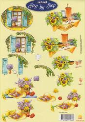 Picturel knipvel bloemen 117145/1078 (Locatie: 4819)