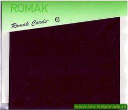 Romak 8 oplegvelletjes vierkant d. bruin K4 908 30 (Locatie: L16 )