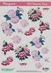 Romak knipvel bloemen nr. PO 000 02 (Locatie: 5007)