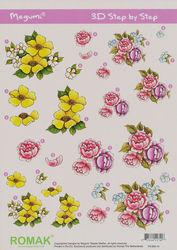 Romak knipvel bloemen P0-000-10 (Locatie: 2379)