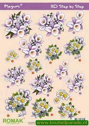 Romak knipvel bloemen P000044 (Locatie: 6211)