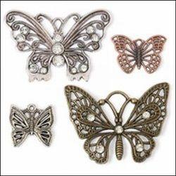 Steampunk bedels vlinders STEAM011 (Locatie: K3)