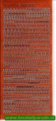Stickervel alfabet koper DD 1554 (Locatie: ZZ073 )