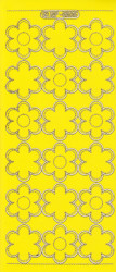Stickervel geel/goud XP6505 (Locatie: K119)