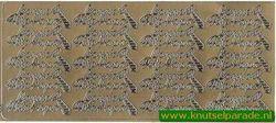 Stickervel goud Bonne Fete Papa nr. 4605 (Locatie: E187 )