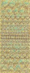 Stickervel holografisch goud hartjes (Locatie: j548)