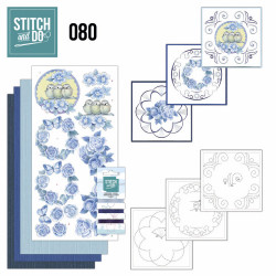 Stitch and Do 80 Vintage Bloemen STDO080