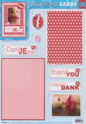 Studio Light Cards dankjewel nr. 20 (Locatie: 4514)