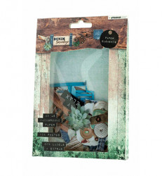 Studio Light Easy Die Cut Paper Set Denim Saturdays EASYDEN646 (Locatie: s2)