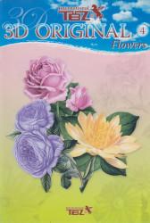 TBZ A5 knipvellen bloemen nr. 4