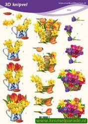 Voorbeeldkaarten knipvel bloemen 2228 (Locatie: 6025)