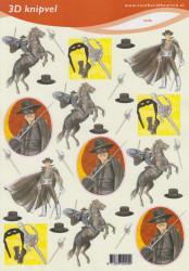 Voorbeeldkaarten knipvel zorro 2245 (Locatie: 1755)