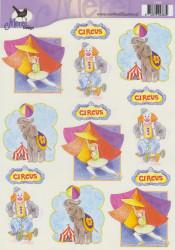 Voorbeeldkaarten merel design circus 2383 (Locatie: 6629)