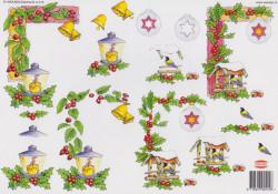 Wekabo knipvel kerstmis 515 (Locatie: 1705)