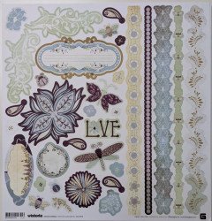 Wisteria scrapbook collection pack wis-1655