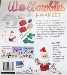 Wollowbies haakset - Kerstman