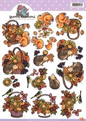 Yvonne Creations knipvel dieren CD10172 (Locatie: 1336)
