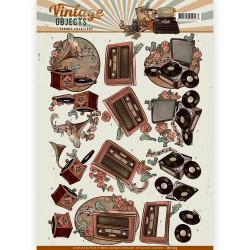 Yvonne Creations knipvel vintage objects CD11105 (Locatie: 1536)