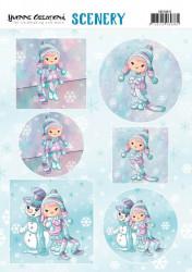 Yvonne Creations stansvel winter CDS10015 (Locatie: 2365)
