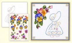 Ann's Paper Art bord.patr. + 3D vel + beschrijving 303 (Locatie: 5559)