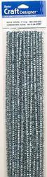 Chenilledraad metallic zilver 10424 19 (Locatie: S2)
