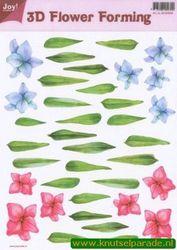 Joy Crafts 3D Flower forming transparant 6018 0009 (Locatie: 1557)