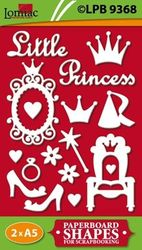 Lomiac kartonnen Prinsessen LPB9368 (Locatie: 4831)