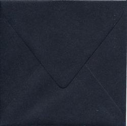 Envelop zwart 14x14 cm (Locatie: k3)
