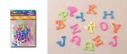 Darice foam stickers alfabet 104 stuks 1036-12 (Locatie: K3)