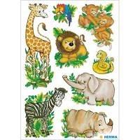 Herma stickers wilder dieren 3 vel 3793 (Locatie: HE010)