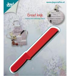 Joy! Crafts snij- embos- en debosmal broodmes 6002/0538 (Locatie: M016)