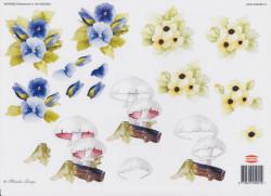 Wekabo knipvel bloemen 901/AD5001 (Locatie: 0228)