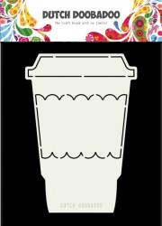 Dutch Doobadoo Card Art Coffee Mug stencil A5 470.713.694 (Locatie: 1126)