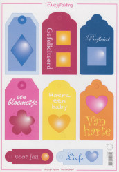 Marianne design knipvel labels nr. FF 4446 (Locatie: 0806)