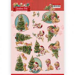 Amy Design knipvel kerstmis CD11527 (Locatie: 5020)