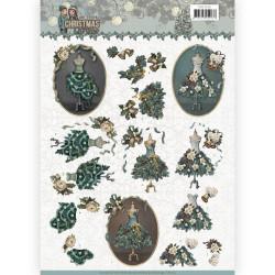 Amy Design knipvel Kerstmisjurk CD11150 (Locatie: 0511)