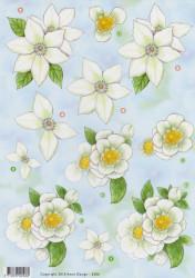 Anne Design knipvel bloemen 2506 (Locatie: 0327)