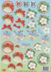 Anne Design knipvel kerstmis HJ6701 (Locatie: 5537)