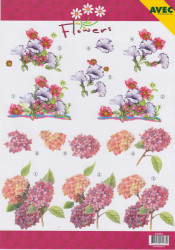 Avec knipvel bloemen 6000062 (Locatie: 5912)