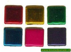 Brad vierkant metal 25 stuks 20811/026 (Locatie: K2)