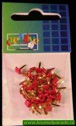 Brads vierkant pink 50 stuks 10828/07 (Locatie: 1A )
