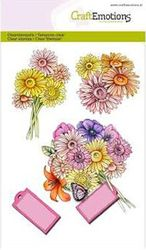 CraftEmotions clearstamps A6 - Boeket Botanical Summer 130501/1073 (Locatie: NN012)