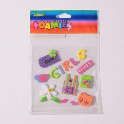Darice foam stickers meisjes 1051-07 (Locatie: K3)