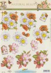 Doe Maar knipvel bloemen 11053-322 (Locatie: 4517)