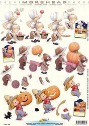 Doe Maar knipvel halloween 11052-208 (Locatie: 0214)