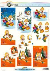Doe maar knipvel kerst 11055-350 (Locatie: 0126)