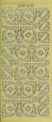Doodey stickervel goud DD6757 (Locatie: e107)