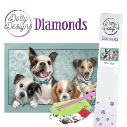 Dotty Designs Diamonds - Dogs DDD1013