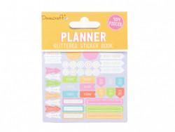 Dovecraft planner glitter stickerboek, 8 vel (Locatie:)
